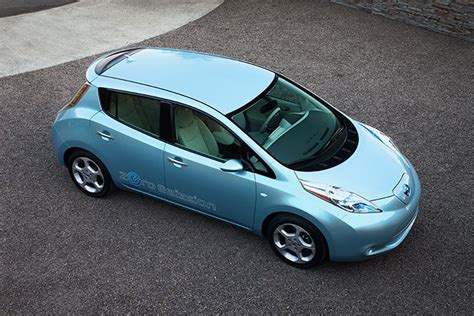 Hertz To Add Nissan Leaf Ev To Rental Fleet