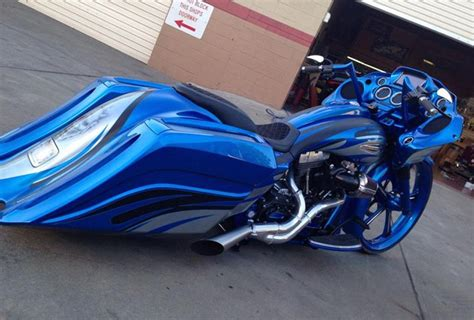 Harley Bagger Custom Paint Jobs