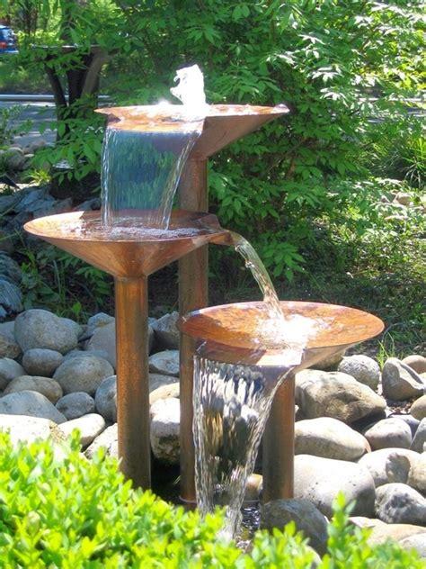 garden fountains ideas 40 beautiful garden fountain ideas