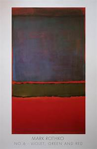 Free Christmas Poster Mark Rothko N 6 Violet Green And Red 1951