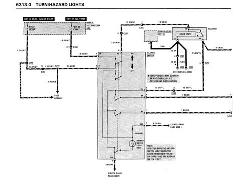 Bmw E30 Turn Signal Wiring Diagram turn signal not working 92 325i e30 m20 pelican parts