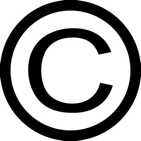copyright symbol thin copyright symbol clip art free vector in open office drawing svg svg vector