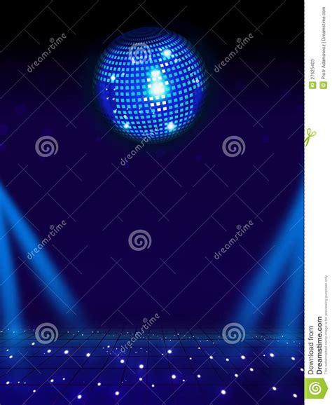 disco ball floor l disco ball and magic floor stock photos image 27625403