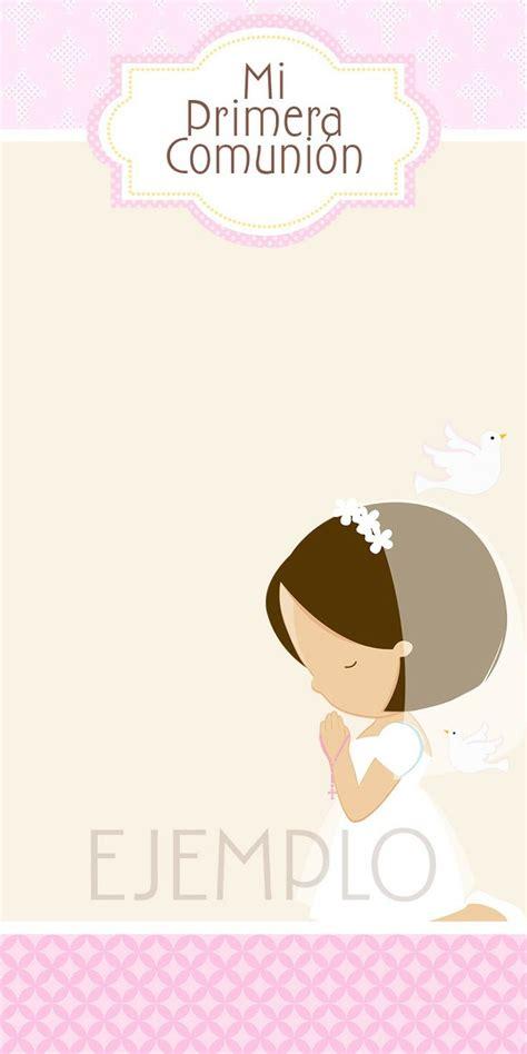 moms angels tarjetas primera comunion  nina