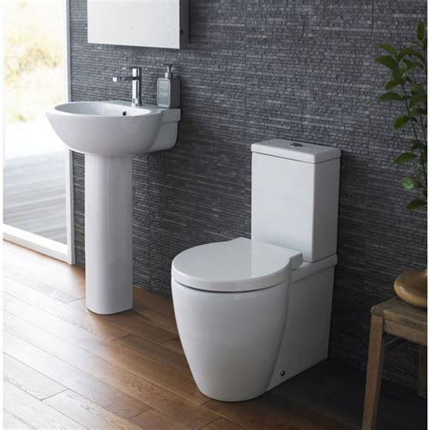 small vanity sinks bathroom toilet wc and basin sink set with