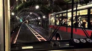 Kanden Tunnel Trolleybus (Kurobe dam, Tateyama, Japan ...
