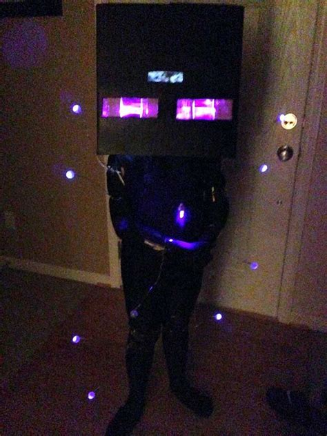 minecraft enderman halloween costume   instructions