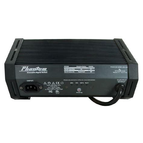 phantom ii phb2030 600w digital ballast mh hps