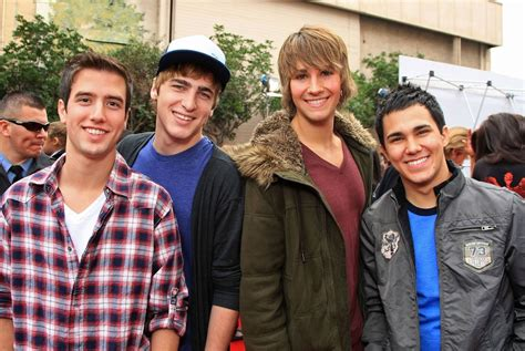 With kendall schmidt, james maslow, carlos penavega, logan henderson. NickALive!: The Latest Big Time Rush Reunion Will Put A Huge Smile On Your Face