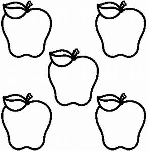 Black And White Apple Clipart - Gallery - Cliparts.co