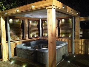 Perfect, Outdoor, Hot, Tub, Privacy, Ideas, 8