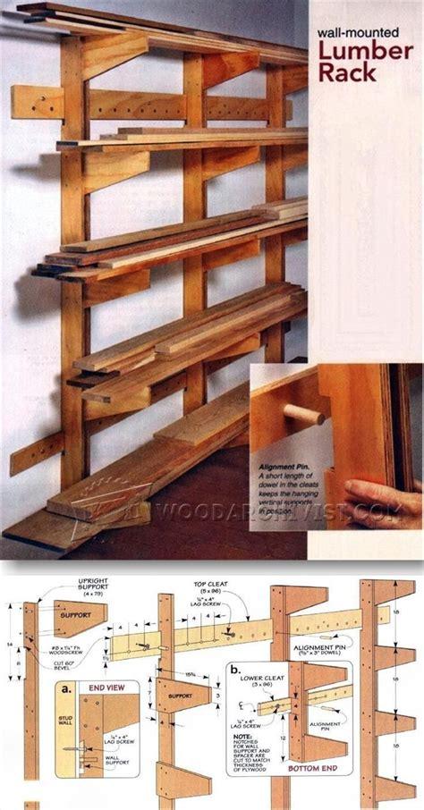 lumber storage ideas  pinterest