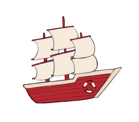 Dessin Bateau Trois Mats Facile by 4 Ways To Draw A Boat Wikihow