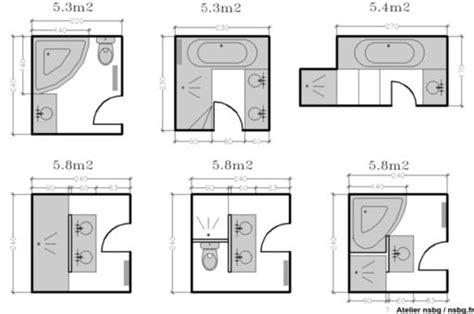 taille minimale chambre les salles de bains de taille moyenne 4 5 6 m 178 les