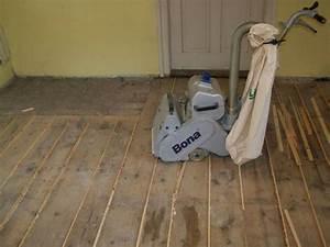 Broušení prkenné podlahy