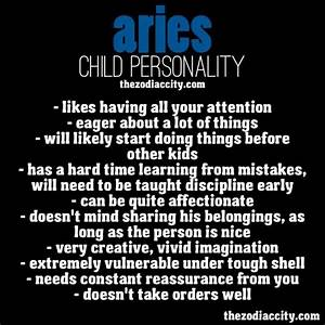 Aries Zodiac Sign Meaning | zodiaccity:Aries Child ...