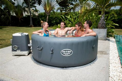 Layz Tub by Bestway Lay Z Spa Palm Springs Hydrojet Tub