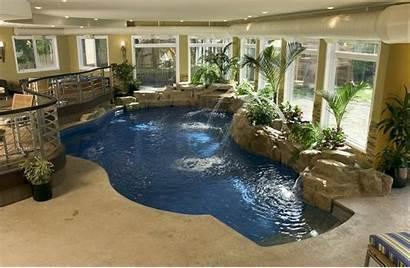 Indoor Pools Pool Swimming Amazing Waterfalls Outdoor