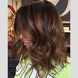 Dark Brown Hair With Caramel Highlights | 736 x 920 jpeg 117kB