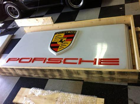porsche garage decor vintage porsche sign pelican parts technical bbs
