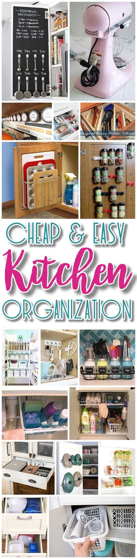 kitchen organization ideas small spaces easy budget friendly ways to organize your kitchen 8362