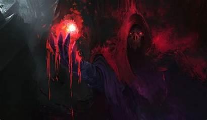 Magic Dark Fantasy Sorcerer Blood Wallpapers Samurai