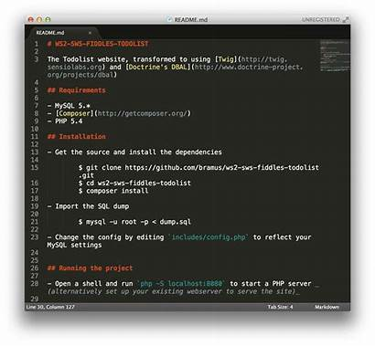 Sublime Markdown Syntax Highlighting Bram Define Lacking