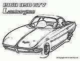 Lamborghini Coloring Cars Fast Outline Drawing Printable Library Colouring Clipart Getdrawings Popular Race Cliparts Clip sketch template