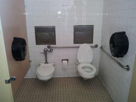 friend bathroom  toilets  stall