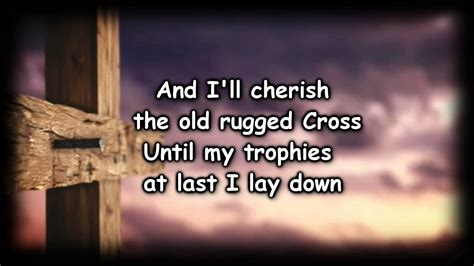 To The Rugged Cross Lyrics by Rugged Cross Worship Resources With Lyrics