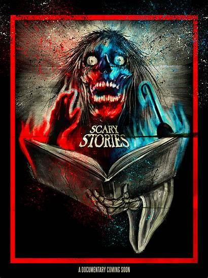 Scary Stories Tell Dark Documentary Poster Horror