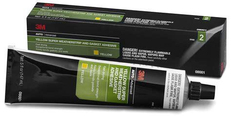 3m 08001 Yellow Super Weatherstrip & Gasket Adhesive 5 Oz