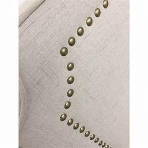 Tissu Pour Tete De Lit : t te de lit design en tissu selena 160cm beige ~ Preciouscoupons.com Idées de Décoration