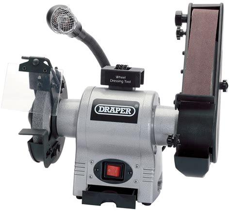 Draper 05096 150mm Bench Grinder With Sanding Belt And