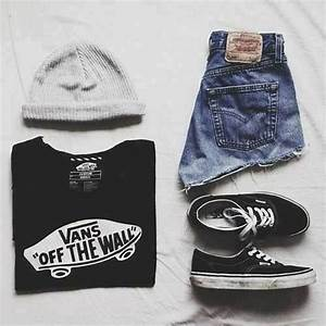 Tumblr outfits fashion vans   fashion   Pinterest   The shorts Latest fashion and I love