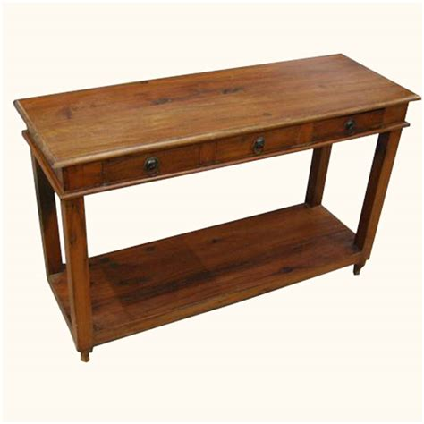 solid mahogany wood entry wall console sofa table solid wood entry sofa hall console foyer table w 3 drawers