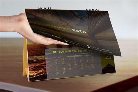 Office Desk Calendar by Corporate Office Desk Calendar Mockup On Behance