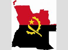 Angola Flag Map · Free vector graphic on Pixabay