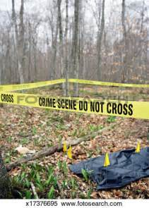 Images of Police Tape Crime Scene