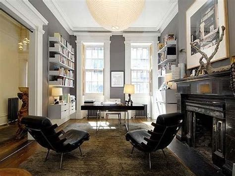 bureau maison aménager un bureau de style masculin à la maison