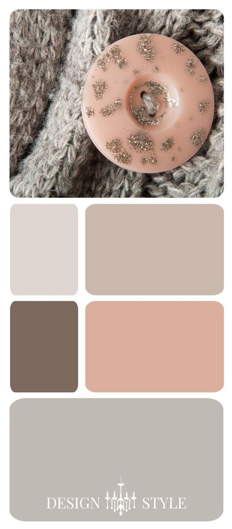 Bedroom Color Schemes Pink by Blush Pink And Gray Color Inspiration Palette Notre
