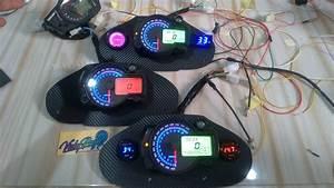 Speedometer Digital Kawasaki Ninja 250 Karbu Pnp Rx2n