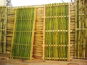 Gros Bambou Deco : mobilier en bambou bambou bambou d co tribus de cl ture jardin deco pinterest bambou ~ Teatrodelosmanantiales.com Idées de Décoration
