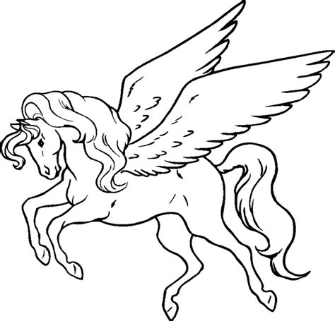 pegasus coloring pages learn  coloring