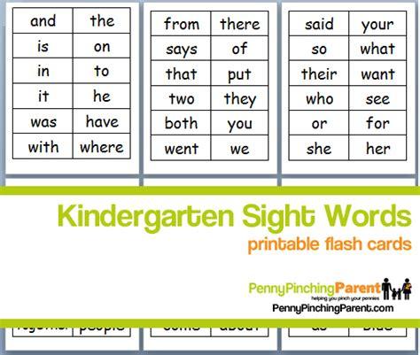 Number Names Worksheets » Free Printable Sight Words  Free Printable Worksheets For Pre School