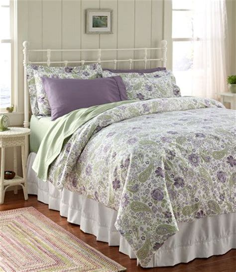 ll bean comforter l l bean wrinkle resistant comforter cover floral in