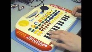 Circuit Bent Animal Band Keyboard By Freeform Delusion