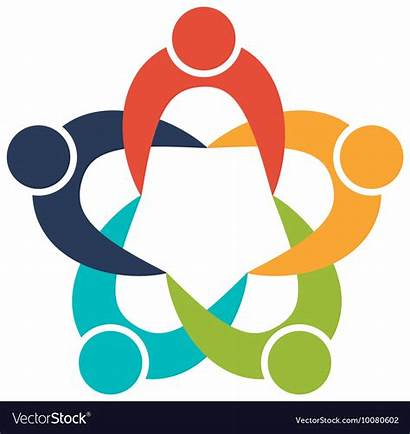 Team Icon Teamwork Vector Support Icons Education