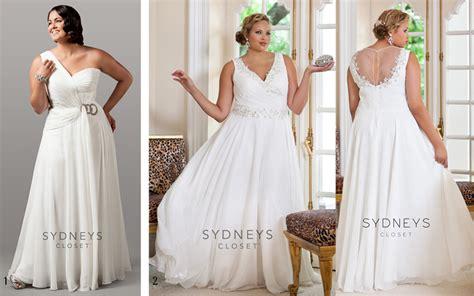 8 Plus Size Wedding Dresses Under 0