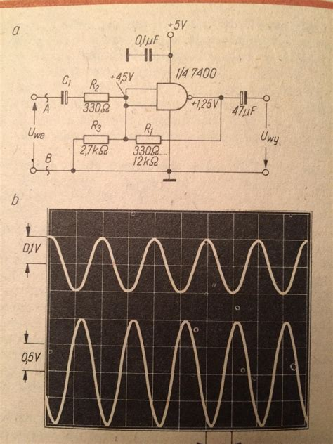 Digital Logic Ttl Nand Analog Amplifier Does Not Work